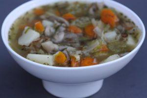 Грибной суп на скорую руку