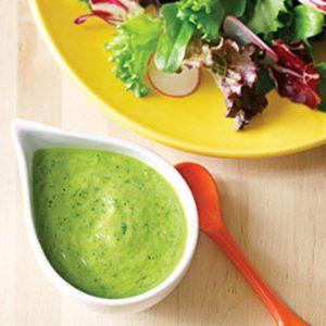 Сливочный соус с авокадо для курицы