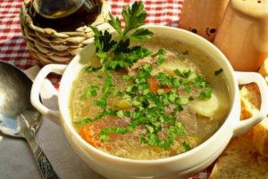 Суп по-шотландски