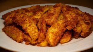 Хрустящая картошка в сухарях в духовке