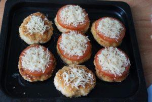 С сыром в духовке